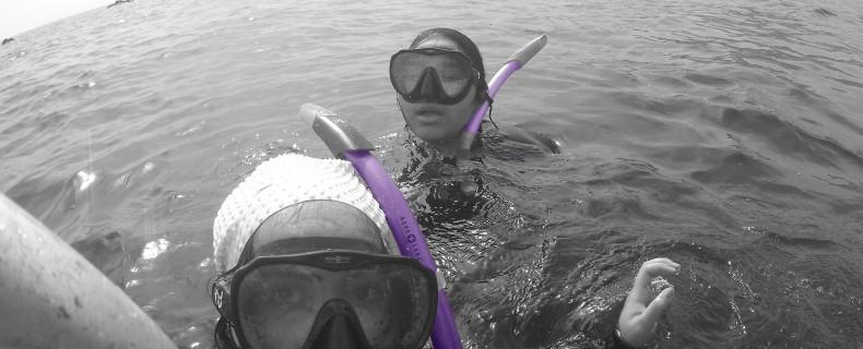ورشة تصوير تحت الماء